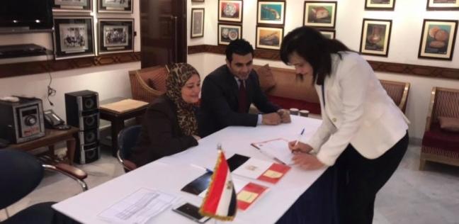 بالصور| توافد المصريين في الهند للتصويت على التعديلات الدستورية