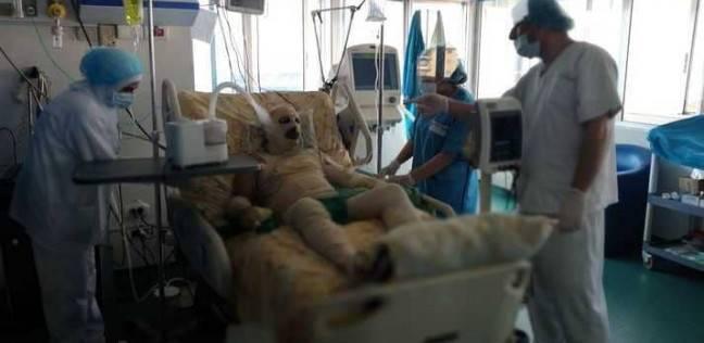 حروق بالغة في جسد سوري أشعل النار في نفسه أمام مركز للأمم المتحدة