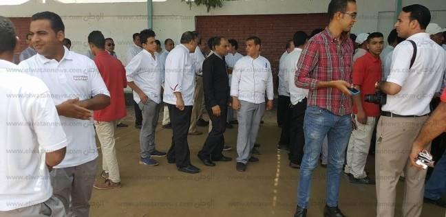 إقبال كثيف للناخبين على اللجان الانتخابية بمدينة شرم الشيخ
