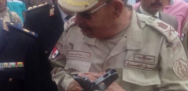 """رئيس """"التنظيم والإدارة"""" بالقوات المسلحة يتفقد لجان الشرابية"""