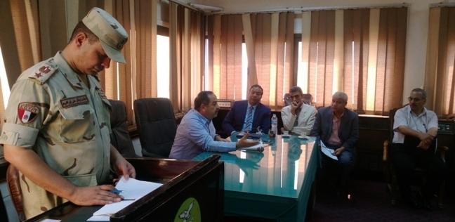 بالصور  محافظة المنوفية تعقد اجتماعا لمواجهة الأزمات والكوارث