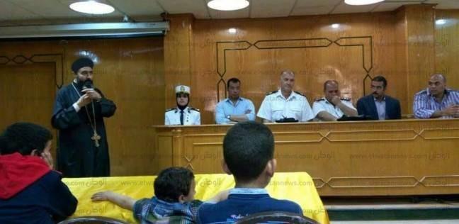قيادات أمن بورسعيد تزور أقباط العريش: أنتم بين أهلكم