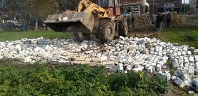 تنفيذ 369 قرار إزالة تعديات على الأراضي الزراعية في سوهاج