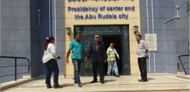 بالصور| تركيب 45 كاميرا مراقبة بالوحدة المحلية لمدينة أبو رديس