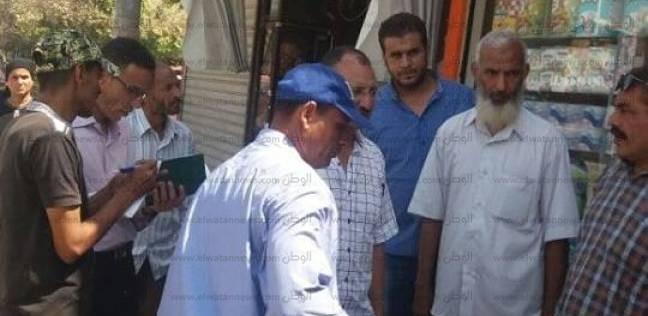 تحرير 81 محضر إشغالات عامة ونظافة بديروط في أسيوط