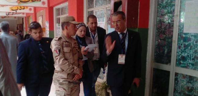 """رئيس """"حقوق الإنسان"""" يتأكد من سلامة العملية الانتخابية بالتجمع الخامس"""