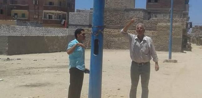 حي العامرية بالإسكندرية يتفقد أعمال صيانة الكهرباء والصرف الصحي