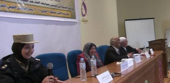 """مسئولة مكافحة العنف ضد المرأة بأمن المنيا: """"مفيش حد هيتحرش ببنت وأنا موجودة"""""""