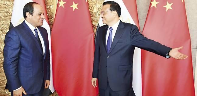 «السيسى» يوقع اتفاقيتين مع الصين فى مجال الطاقة الإنتاجية والمشروعات ا