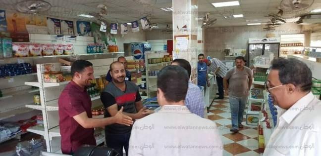تحرير 110 محاضر تموينية في حملة موسعة بالإسماعيلية