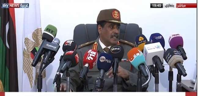 المسماري: طائرات بدون طيار تتجسس على قوات الجيش الليبي