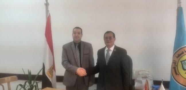 """عميد """"إعلام الأزهر"""" يستقبل نائب رئيس محكمة النقض"""