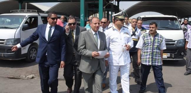 محافظ الإسكندرية يطالب بتكثيف حملات إزالة إشغالات الطريق