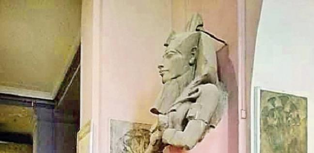 """جدل فى """"الآثار"""" حول تشويه """"إخناتون"""" فى المتحف المصرى"""