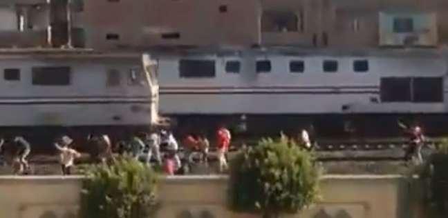 """توقف حركة القطارات في خط """"القاهرة - طنطا"""" عقب اكتشاف خلع البلنجات"""