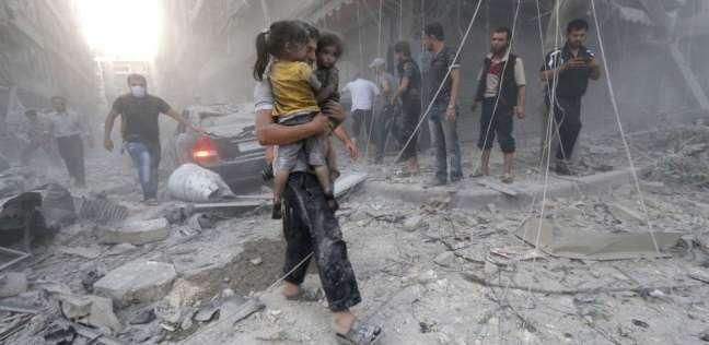 الدفاع المدني السوري لـالوطن الغارات حولت الغوطة الشرقية لحمام دم