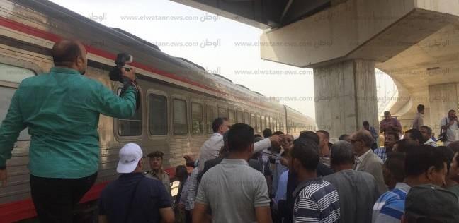 تحقيقات حادث قطاري المناشي بالبحيرة: سائق قطار البضائع أغلق جهاز Atc