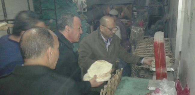 بالصور| ضبط أفران تبيع خبز ناقص الوزن في دمنهور