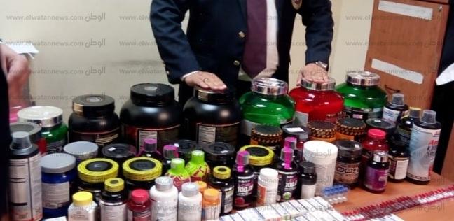 إحباط محاولة تهريب أدوية ومكملات غذائية بمطار شرم الشيخ