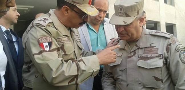 قوات تأمين الجيش تتفقد لجان الانتخابات ببورسعيد