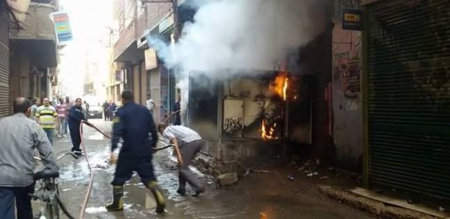 النيابة تحقق فى حريق سيارة محملة بمواد بترولية داخل محطة بنزين باكتوبر
