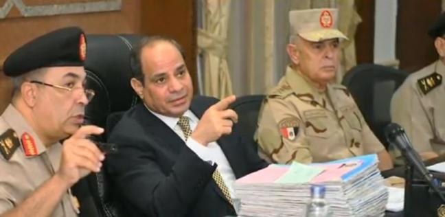 «السيسي» يتفقد الكلية الحربية ويحضر اختبارات كشف الهيئة للطلبة الجدد - مصر -
