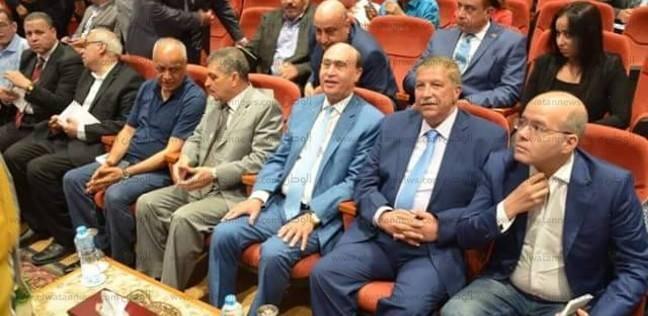 بالصور  طاهر يشهد الاحتفال بالذكرى الثالثة لافتتاح قناة السويس الجديدة