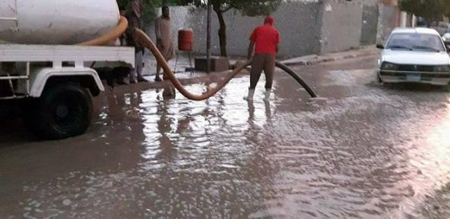 هطول أمطار غزيرة على سواحل دمياط وتوقف حركة الصيد