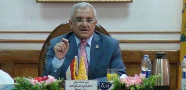 رئيس جامعة المنيا: ثورة يونيو أثبتت ثقة الشعب بجيشه وشرطته
