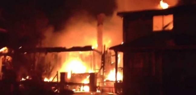 مصدر: السيطرة على حريق داخل قصر الثقافة بمنطقة العمرانية
