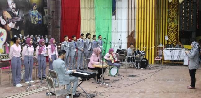 جامعة جنوب الوادي تنظم قافلة رياضية بقرية البراهمة في قفط