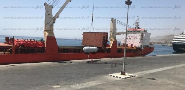 ميناء سفاجا يستقبل سفينة كورية على متنها 91 طن مهمات بترولية