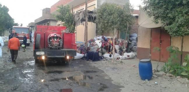 انتداب المعمل الجنائي في حريق جامعة القاهرة