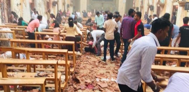 بالفيديو| تزامنا مع مناسبة دينية.. قتلى وجرحى في 6 انفجارات بسريلانكا