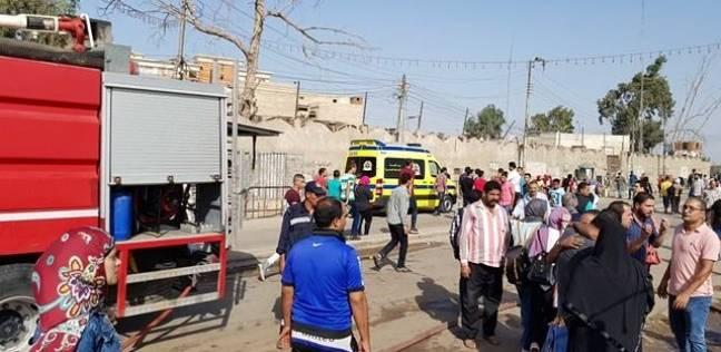 أمن الجيزة: السيطرة على حريق في مصنع عصائر بأكتوبر