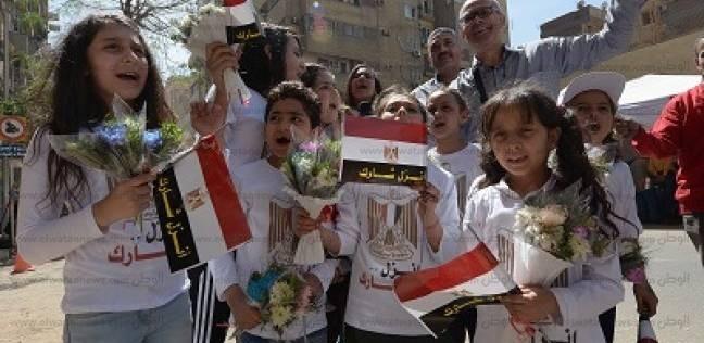 وسط القاهرة: إقبال كثيف واحتفالات وإشادة بالتنظيم