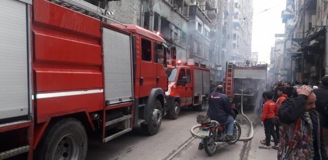 إخماد حريق بقاعة في مبنى نقابة المهندسين بالمنوفية
