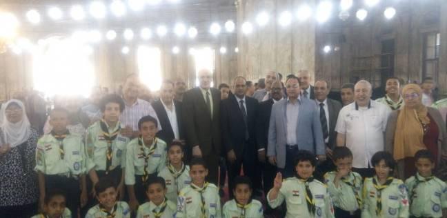 """طلاب """"تعليم القاهرة"""" يشاركون في احتفالات العيد القومي للعاصمة"""