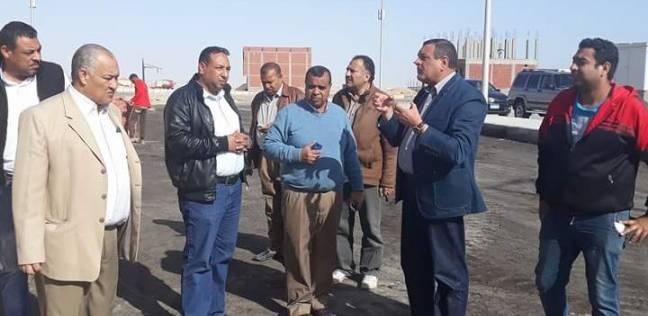 رئيس مدينة سفاجا يتفقد مشروع تطوير العشوائياتبالبحر الأحمر