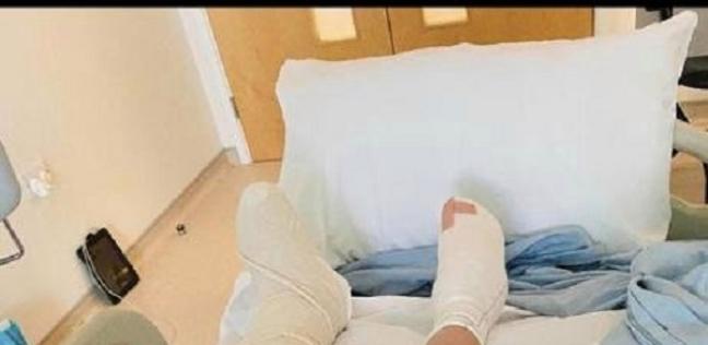 «ويل» أثناء مكوثه في المستشفى