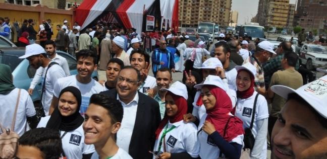رئيس جامعة حلوان يحث الشباب على المشاركة في الاستفتاء
