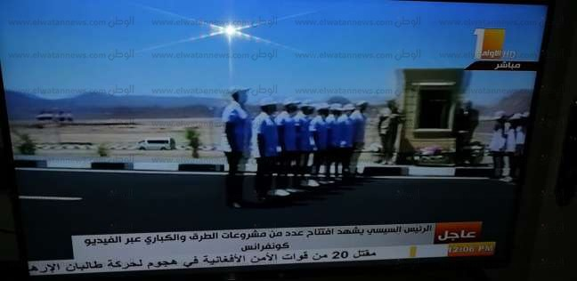 محافظ جنوب سيناء يفتتح الطريق الأوسط بشرم الشيخ