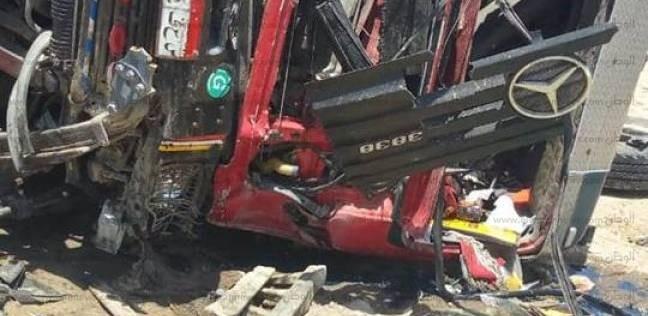 محافظ الإسكندرية يتابع حالات مصابي حادث الطريق الصحراوي