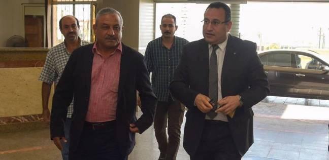 محافظ الإسكندرية يصل إلى الديوان بعد أدائه اليمين