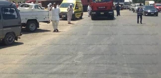 مصرع شخصين إثر تصادم بالطريق الصحراوي غرب الإسكندرية