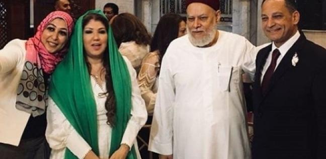 بالفيديو والصور| عقد قران الإعلامية رولا خرسا بحضور علي جمعة