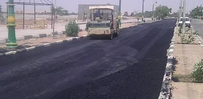محافظة الوادي الجديد تعتمد 66 مليون جنيه لتنفيذ خطة رصف الطرق الداخلية