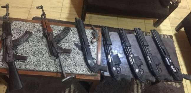 حملة أمنية مكبرة بالمحافظات على تجار السلاح والذخيرة
