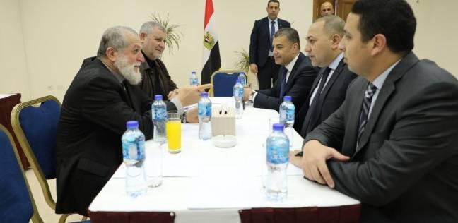 الوفد الأمني المصري بغزة يلتقي نائب رئيس الوزراء الفلسطيني