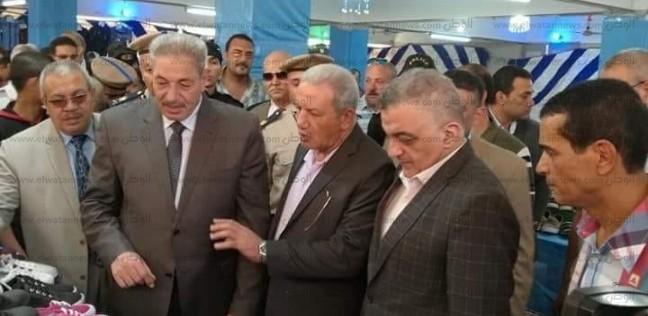 """بالصور  افتتاح معرض """"كلنا واحد"""" مركز شباب ميت سلسيل في الدقهلية"""